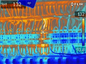 Thermal Image Hot